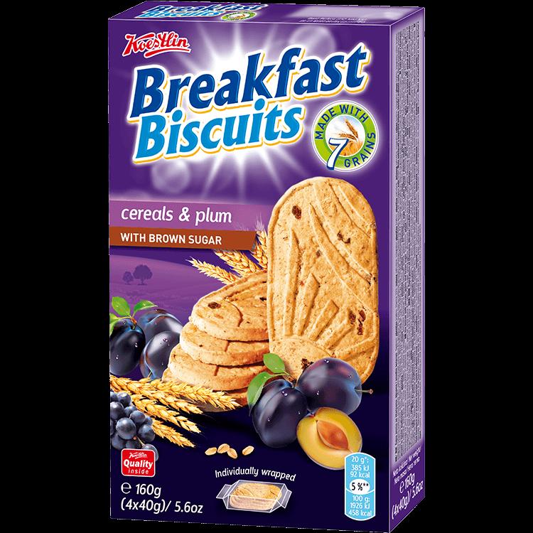Breakfast biscuits - Cereals & Plum (''Biscotti da colazione – Cereali e prugne'')
