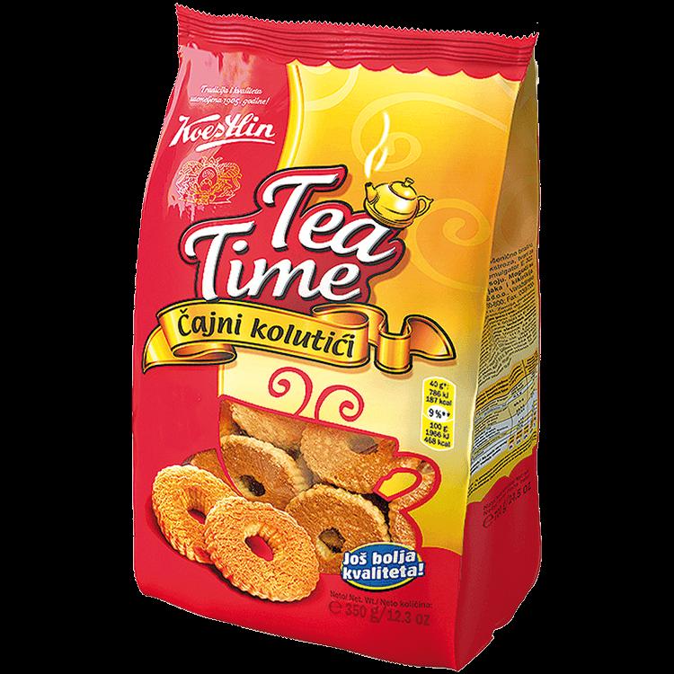 Tea Time Čajni kolutići(''Tempo per il tè - Biscotti da tè in forma di annelini'')