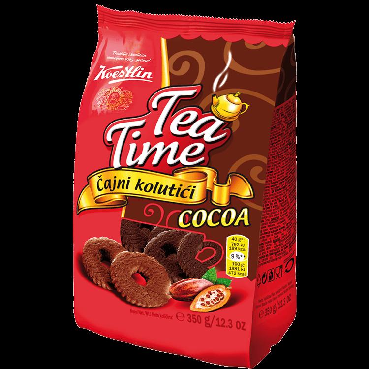 Tea Time Čajni kolutići kakao(''Tempo per il tè cacao - Biscotti da tè in forma di annelini'')