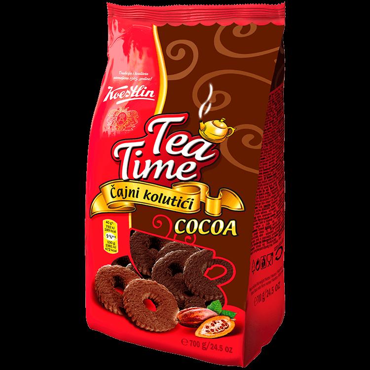 Tea Time Čajni kolutići kakao