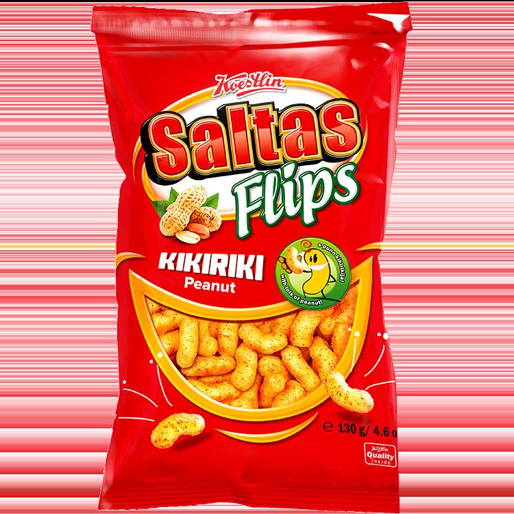Saltas Flips peanuts