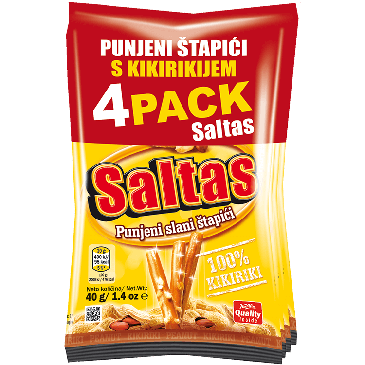 Saltas Kikiriki(''Saltas arachidi'')