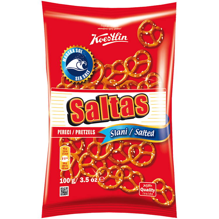 Saltas Slani pereci(''Saltas brezel salati'')