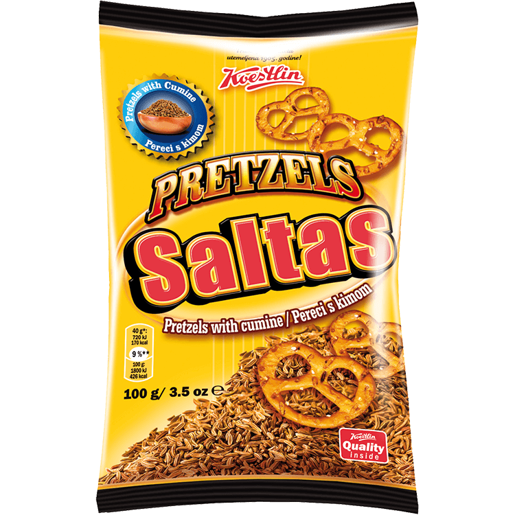 Saltas Pretzels with cumine