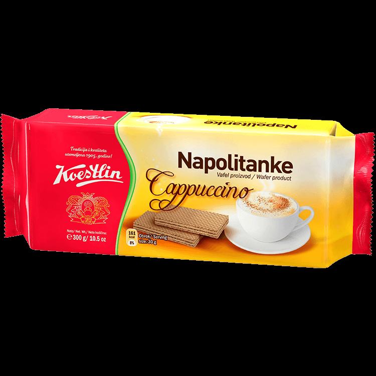 Napolitanke Cappuccino (''Wafer cappuccino'')
