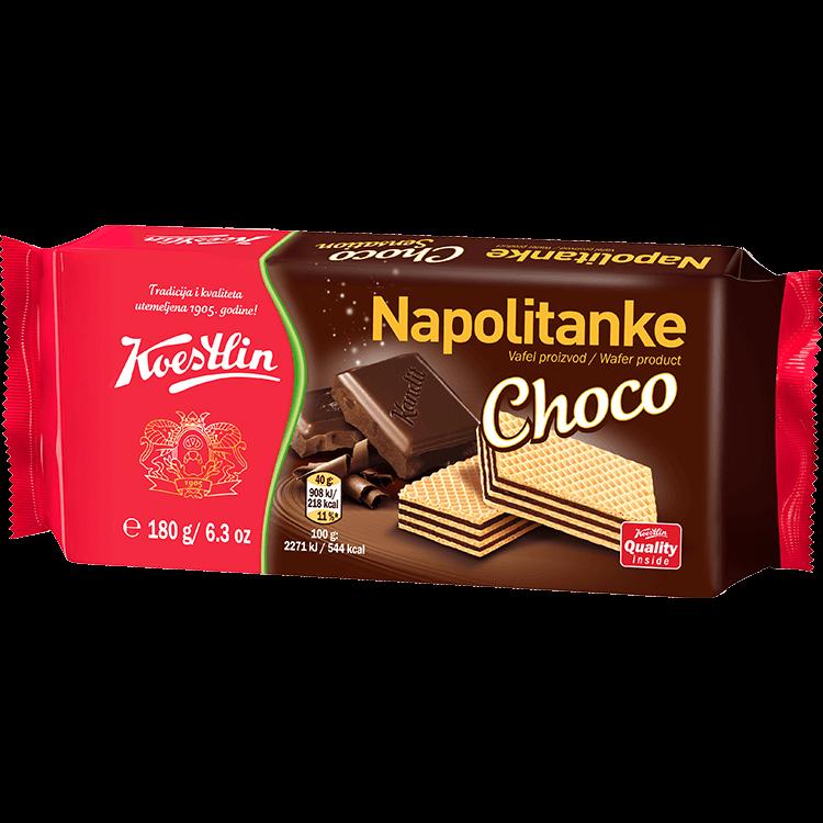 Napolitanke Choco (''Wafer cioccolato'')