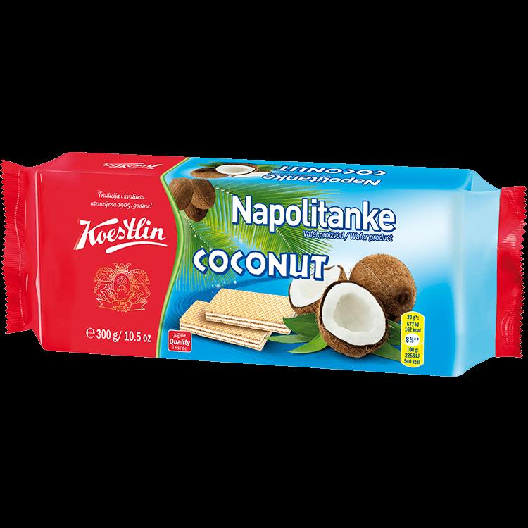 Napolitanke Coconut