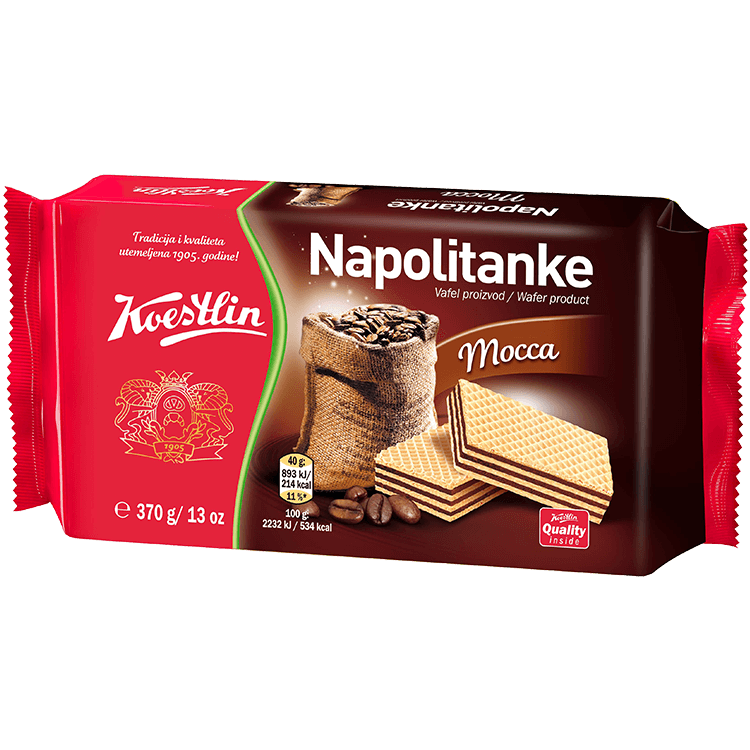 Napolitanke Mocca (''Wafer mocca'')