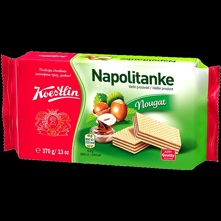 Napolitanke Nougat(''Wafer torrone'')