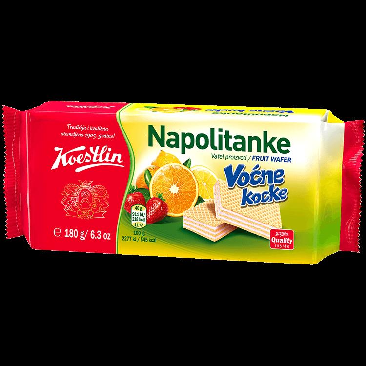 Neapolitaner Fruchtwürfel