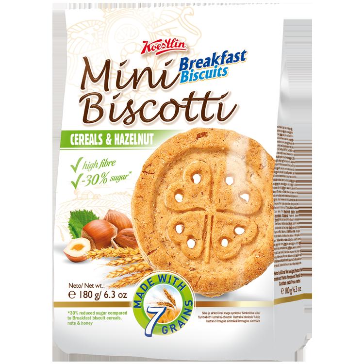 Mini Biscotti BB hazelnut 180g