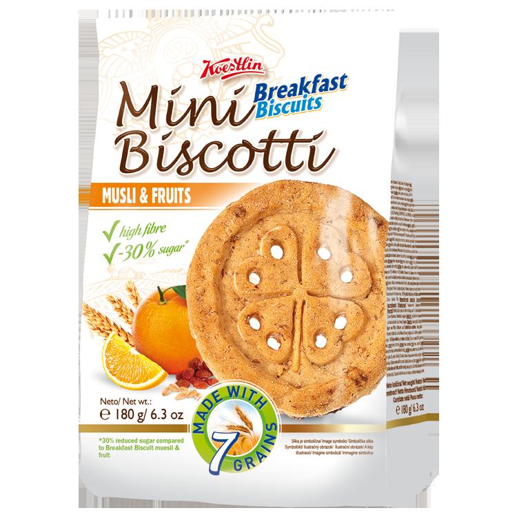 Mini Biscotti BB muesli & fruit